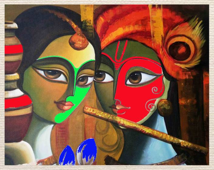 Painting Without Frame Canvas Art Religious Posters In India Buy