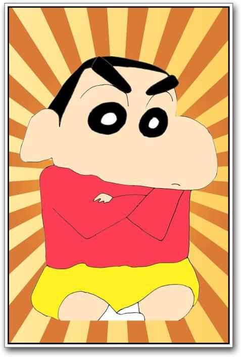Shin Chan Cartoon Paper Print Animation Cartoons Comics Posters