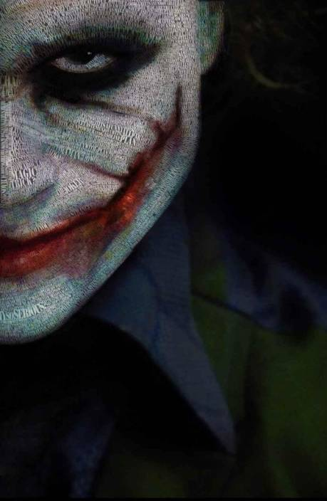 Da Vinci Posters Dark Knight Joker Quotes C Poster Photographic