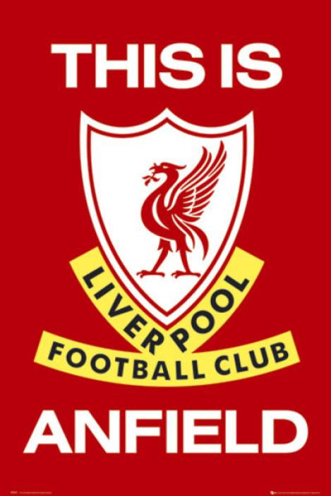 Liverpool - This is Anfield Paper Print