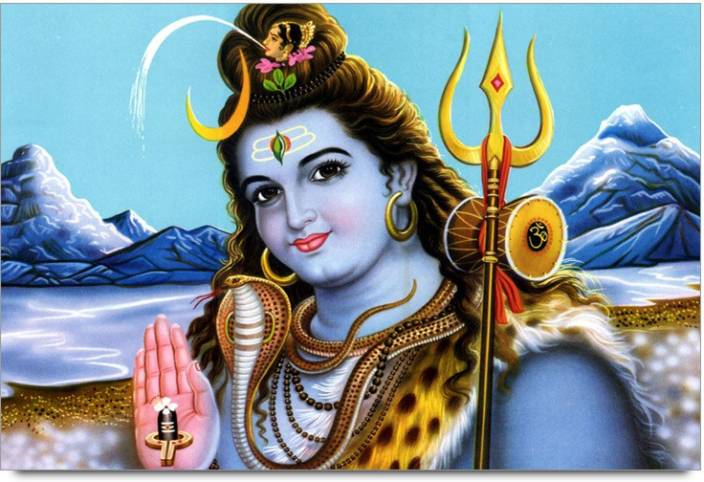 Amy Beautiful Lord Shiva 3D Poster - Nature, Nature posters