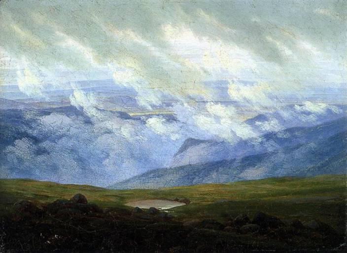 Drifting Clouds (1820) (Medium) Paper Print