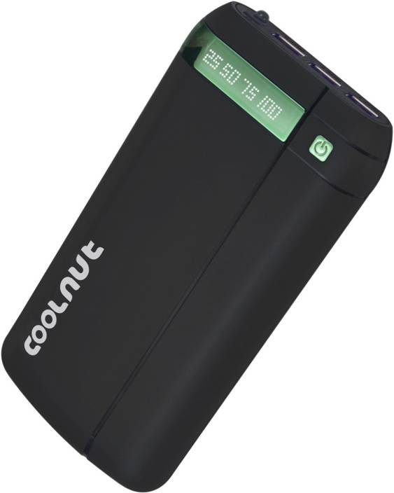 Coolnut 20000 mAh Power Bank (High Capacity power bank, USB Port and LCD Display)
