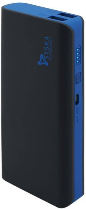 Syska 11000 mAh Power Bank (X110)