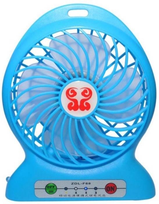 Selvel 2800 mAh Power Bank (ZDL-F68, Portable 3 in 1 Fan)