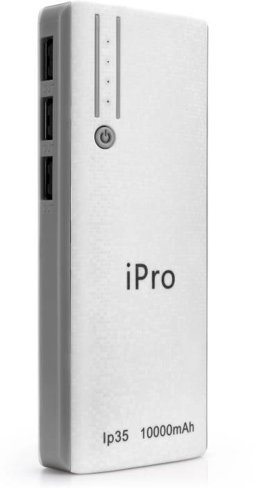 Ipro IP35 For Smartphones & Tablets 10000 mAh Power Bank