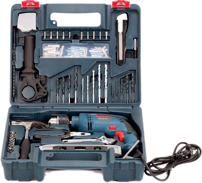 Bosch GSB 600 RE Drill Power & Hand Tool Kit