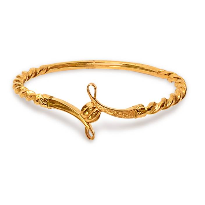 Senco Gold Classic Noa Yellow Gold 22kt Bangle Price in India ...