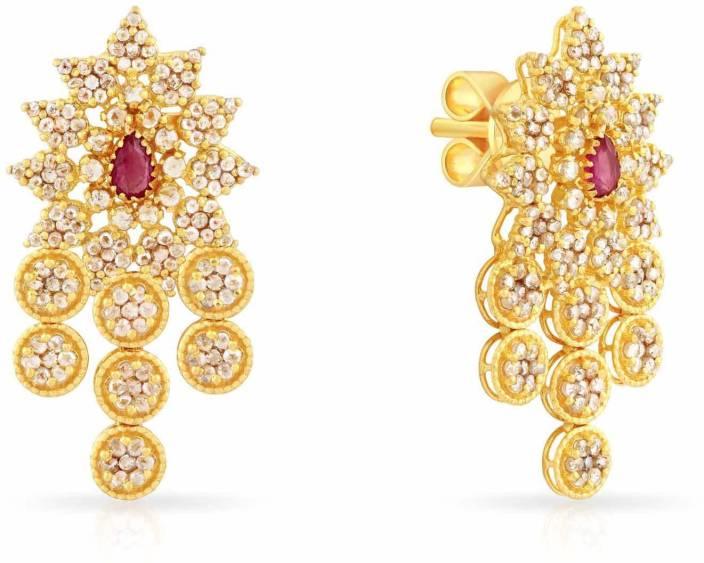 4f57e8d41 Malabar Gold and Diamonds ERA Yellow Gold 22kt Stud Earring Price in India  - Buy Malabar Gold and Diamonds ERA Yellow Gold 22kt Stud Earring online at  ...