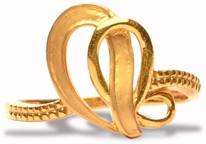 Senco Gold Wcurves 22kt Yellow Gold Ring Price In India Buy Senco