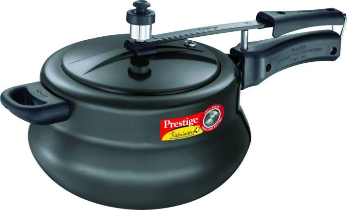 dbf0a80317c Prestige Nakshatra Plus HA Handi 5 L Pressure Cooker with Induction Bottom  (Hard Anodized)