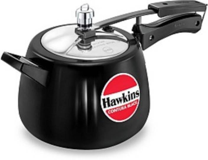 5c22ff7f5 Hawkins Contura Black 4 L Pressure Cooker Price in India - Buy ...