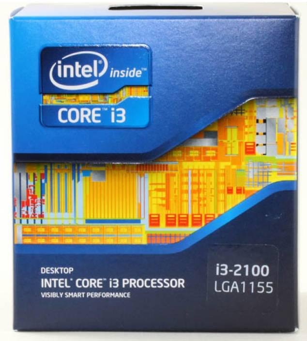 Intel 3.1 GHz LGA 1155 Core i3-2100 Processor
