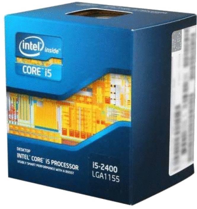 Intel 3.1 GHz LGA 1155 Core i5-2400 Processor