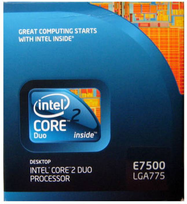 Intel 2.93 GHz LGA 775 Core 2 Duo E7500 Processor