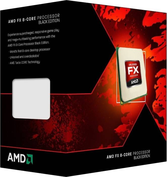 Amd 3 5 Ghz Fx 8320 8 Core Processor Black Edition Amd Flipkart Com