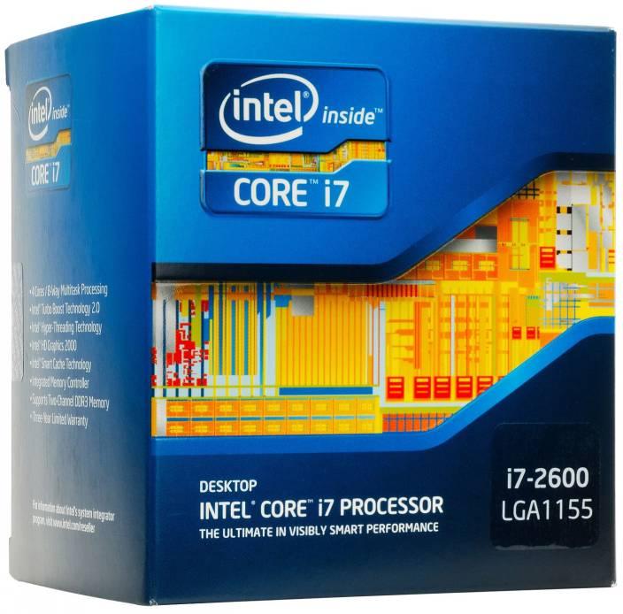 Intel 3.4 GHz LGA 1155 Core i7-2600 Processor
