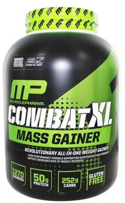 MusclePharm Combat XL Mass Gainer Weight Gainers/Mass Gainers