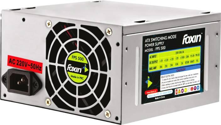 Foxin FPS 500S 500 Watts PSU