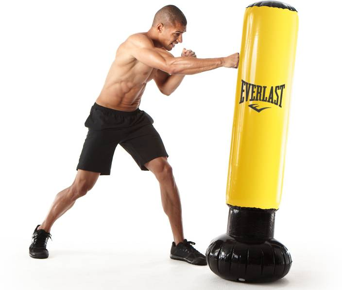 Everlast Tower Inflatable Punching Bag Standing