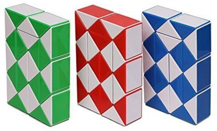 Play Win   Magic Snake Red Blue Green 3 Color In 1 Package Twist Puzzle  Twisty d3d3d96bf1