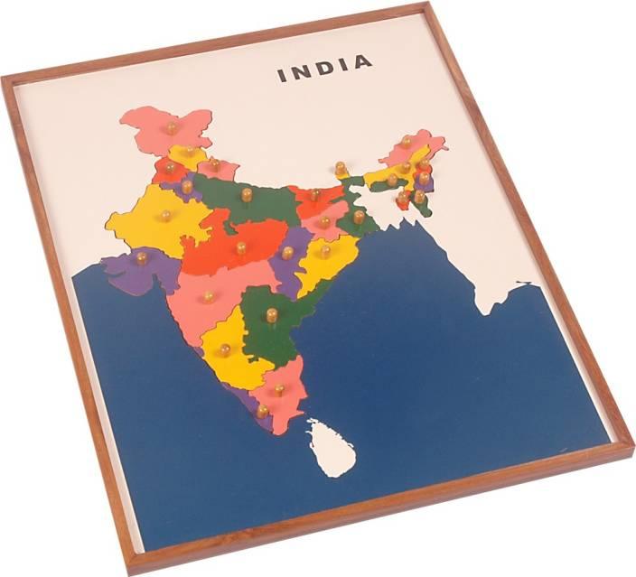 Kidken montessori map puzzle india montessori map puzzle india kidken montessori map puzzle india gumiabroncs Images