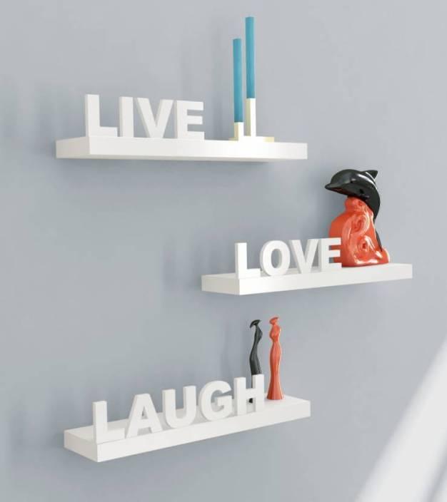 Wooden Art & Toys Na Wooden Wall Shelf