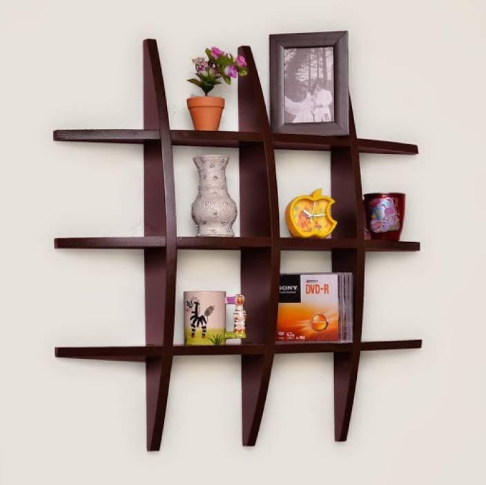 Usha Furniture Wooden Wall Shelf Price In India Buy Usha Furniture