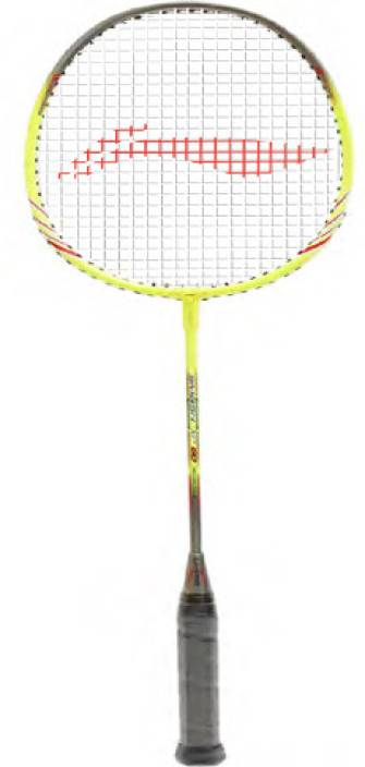 li ning xp 60 yellow grey strung badminton racquet buy li ning xp