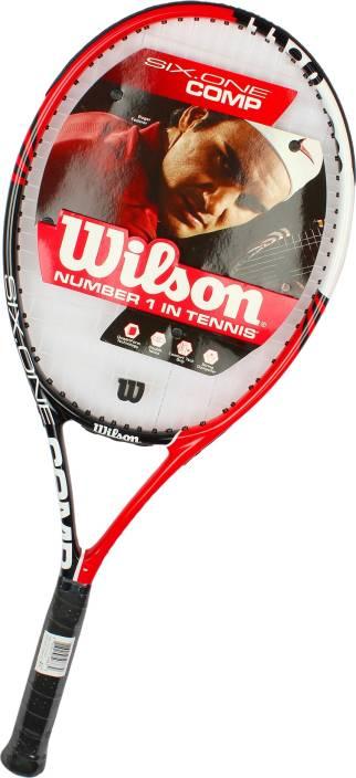 f05c3c0300 Wilson Six One Comp RKT 3 Strung Tennis Racquet - Buy Wilson Six One ...