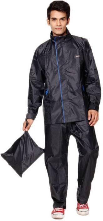 Versalis Solid Men's Raincoat - Buy Blue Versalis Solid Men's ...