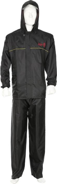 largest selection of 2019 top-rated best wholesaler Rainbow Basic Delight Solid Men's Raincoat - Buy Black ...