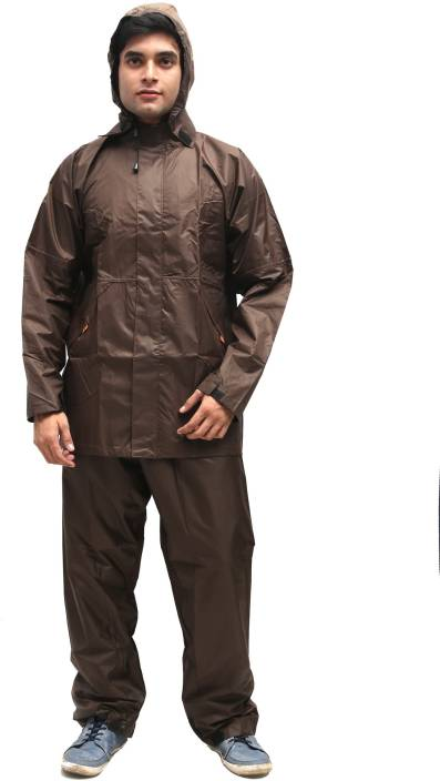 Duckback Solid Men's Raincoat - Buy Blue Duckback Solid ...