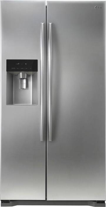 LG 567 L Frost Free Side by Side 3 Star Refrigerator