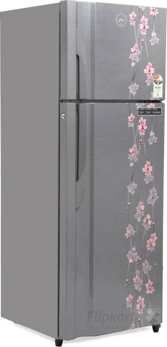 1d1c353e1 Godrej 350 L Frost Free Double Door 3 Star Refrigerator (Silver Meadow