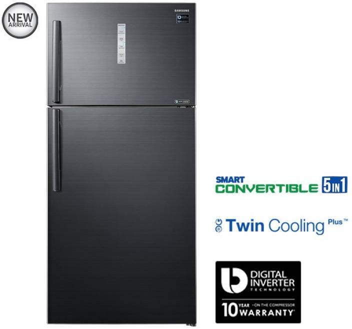 Samsung 670 L Frost Free Double Door 3 Star Refrigerator Online at on
