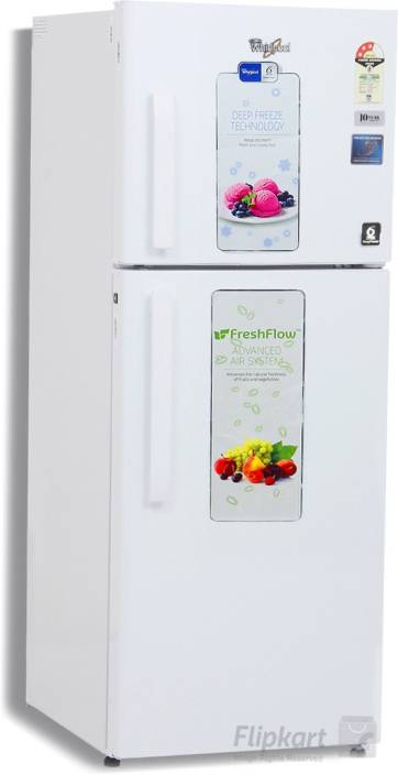 Whirlpool 245 L Frost Free Double Door 3 Star Refrigerator