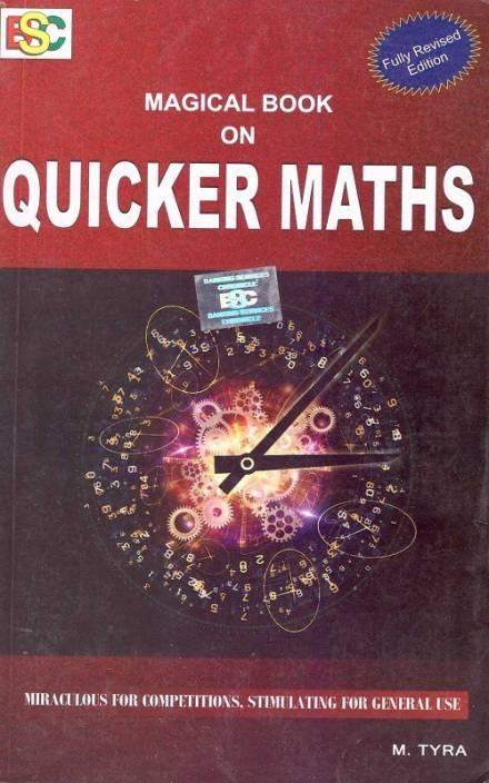 Quicker Maths Magical Books On Mathematics