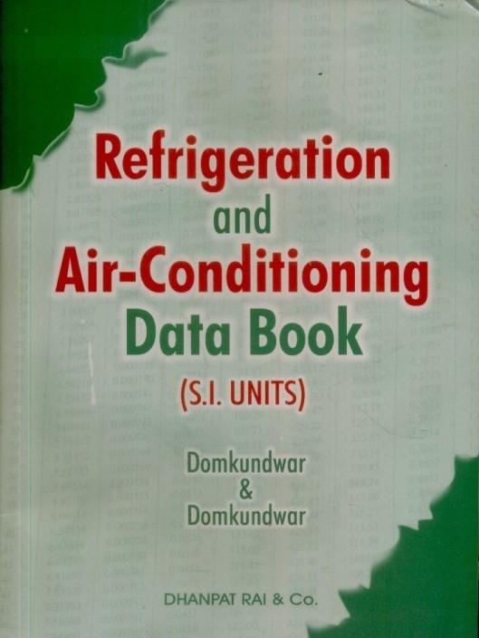 Refrigeration Book Pdf