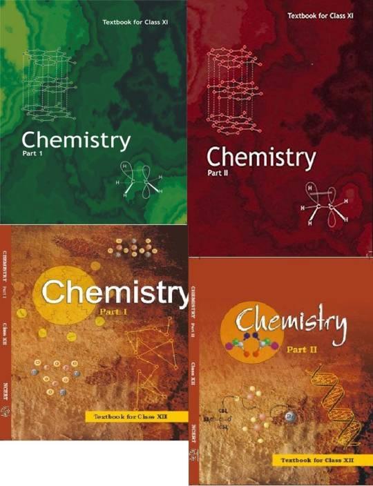 Ncert Chemistry Class 11&12 (Set Of 4 Books): Buy Ncert