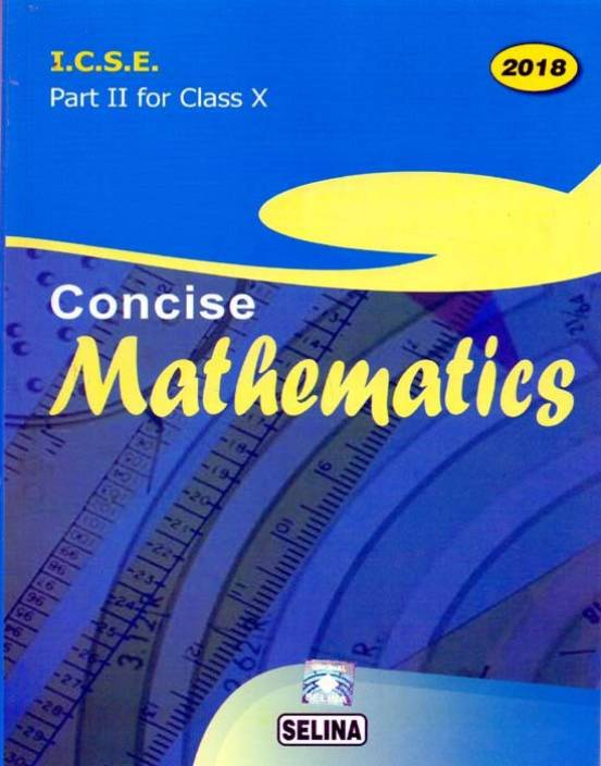 selina icse solutions for class 10 maths