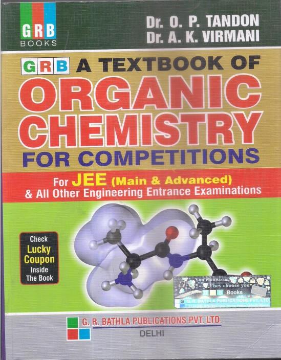 op tandon organic chemistry ebook