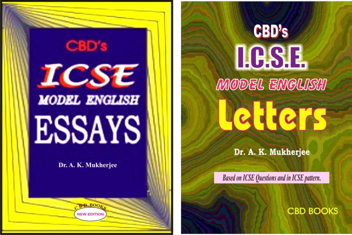 cbds icse model english essaysletters set of  books buy cbds  cbds icse model english essaysletters set of  books paperback dr a  k mukherjee
