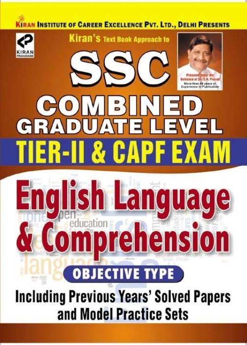 SSC Combined Graduate Level English Language & Comprehension Tier-II & CPO Exam (Objective Type)
