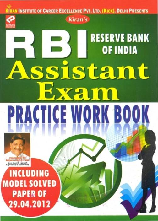 RBI Reserve Bank Of India Assistant Exam Practice Work Book
