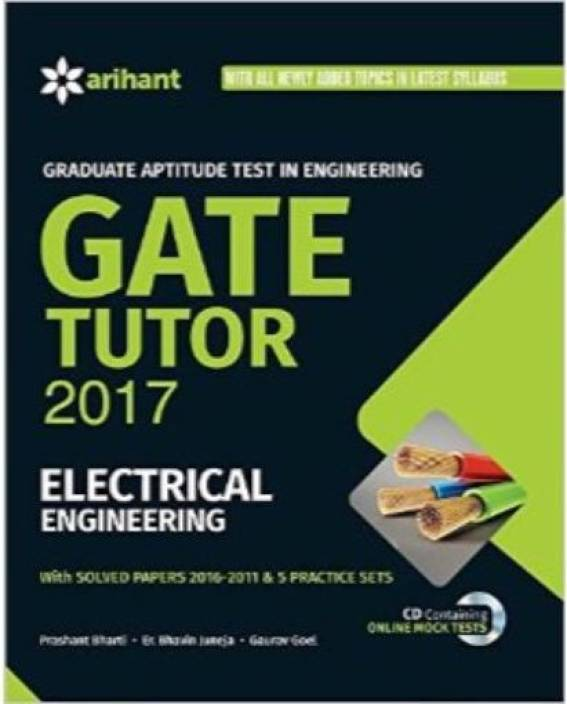 GATE Tutor 2017 Electrical Engineering [Paperback] English 7th Edition