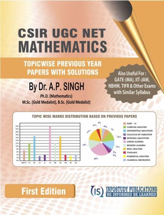 CSIR UGC NET Mathematics: Buy CSIR UGC NET Mathematics by Dr
