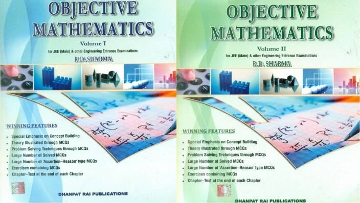 Objective Mathematics For JEE ( Main & Advanced) & Other Engineering Entrance Examinations (Set Of 2 Volumes)