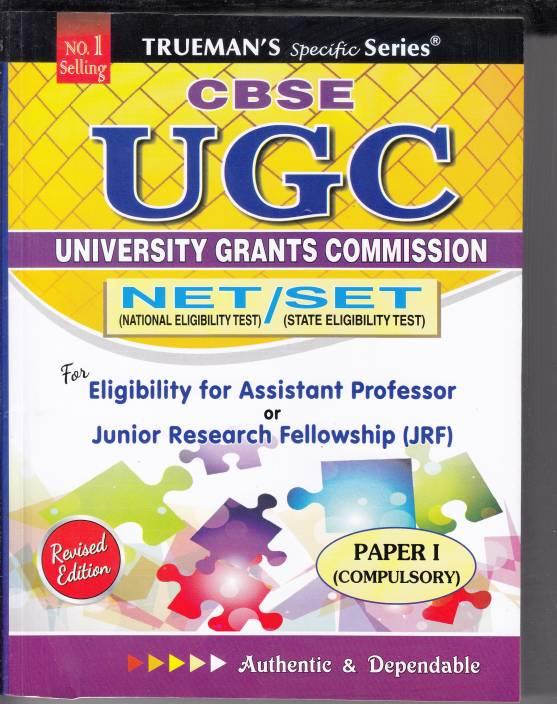 UGC University Grants Commission NET / SET Cmpulsory Paper I