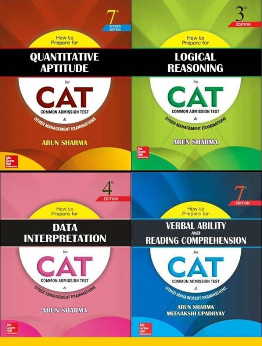 How To Prepare For The CAT Exam (Set Of 4 Books) By Arun Sharma